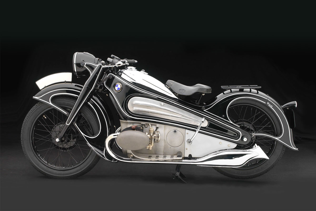 BMW R7 restoration concept motorcycle