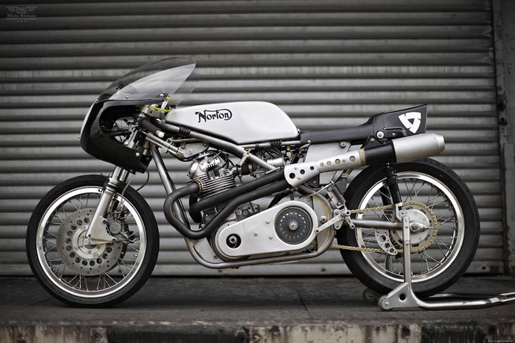 building a cafe racer Norton