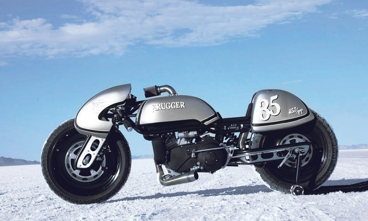 Krugger goodwood custom buell motorcycle