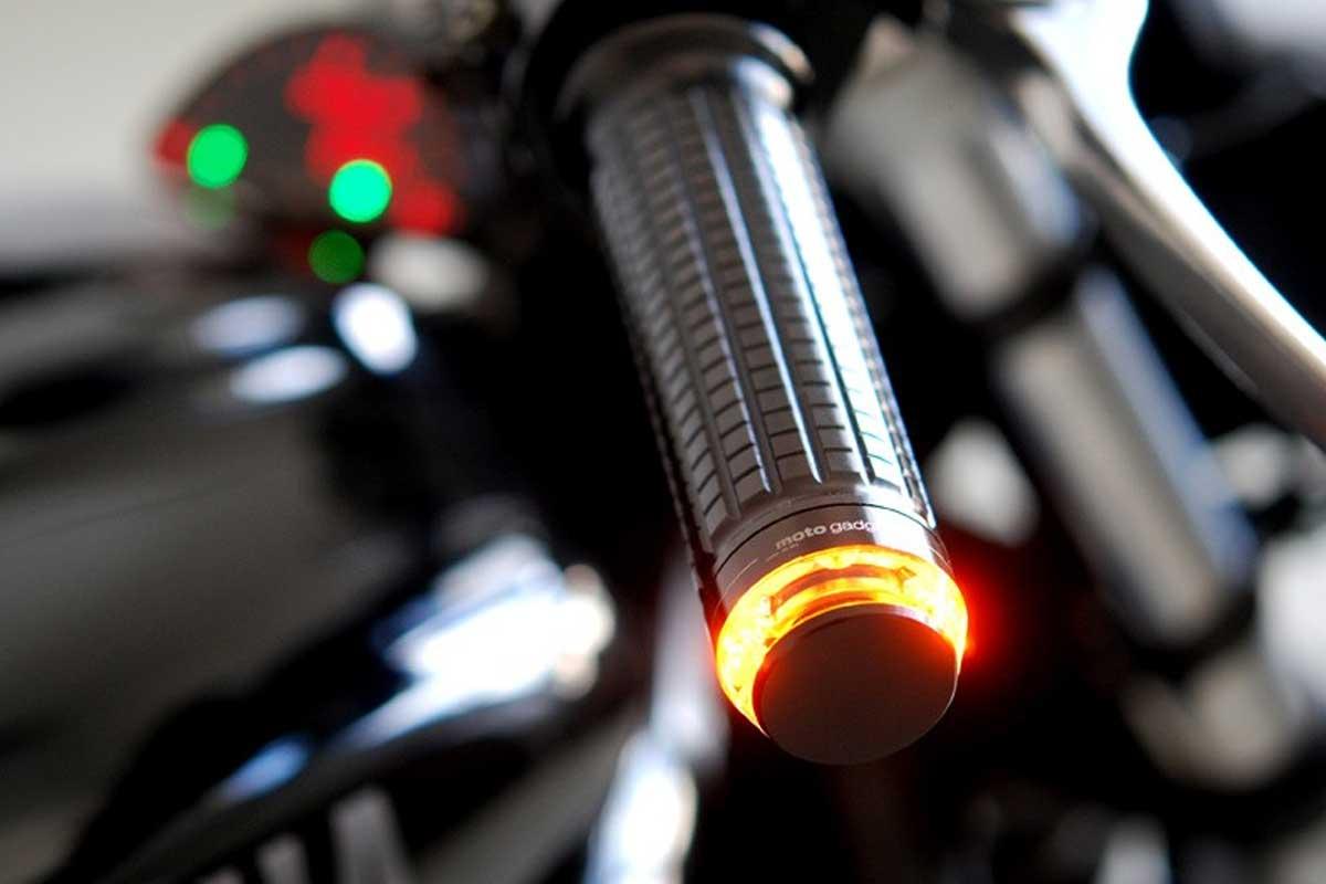 Motogadget indicators