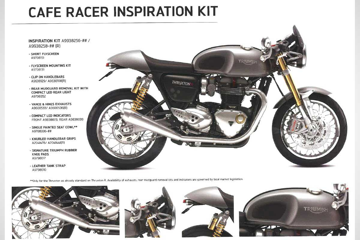 Triumph inspiration kits