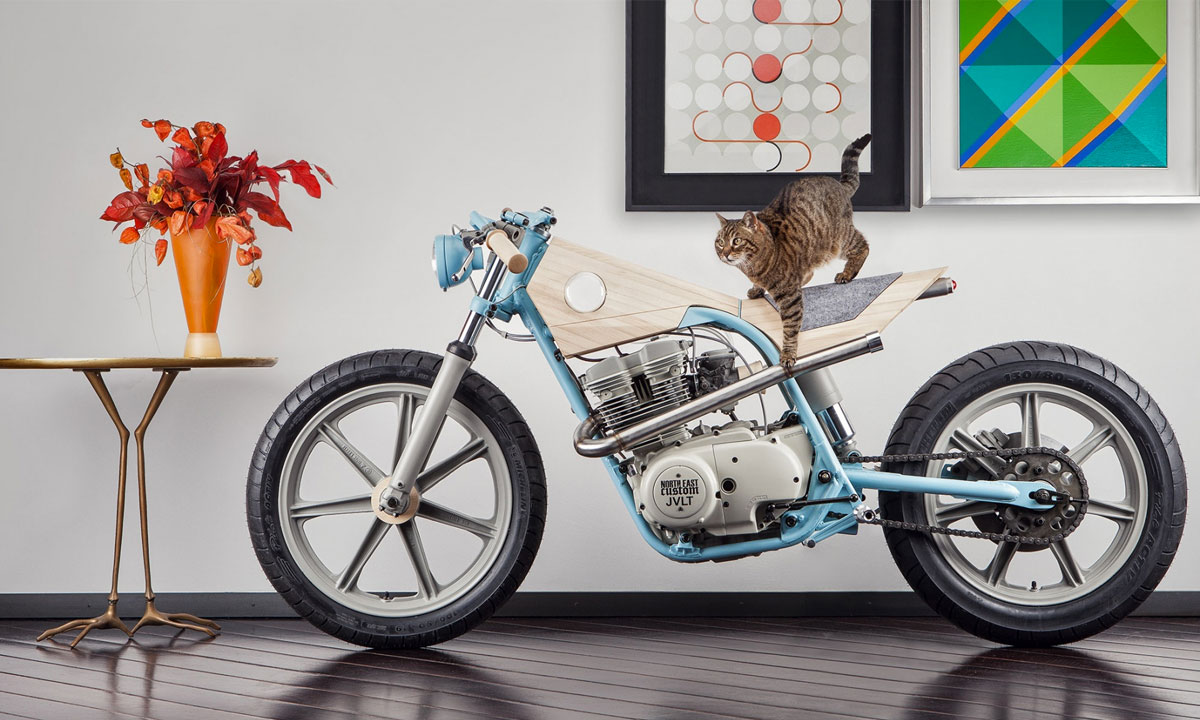 Flat Pack Motorcycle