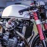 Blacktrack CX500 cafe racer
