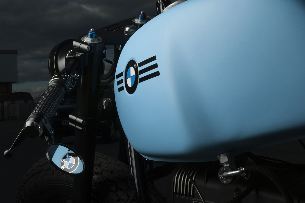 BMW R100 R cafe racer by Sinroja Motorcycles