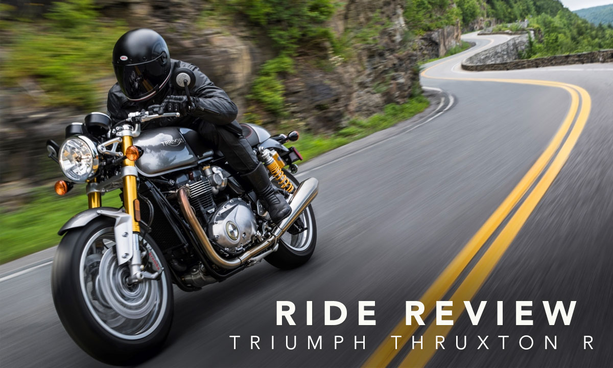 Triumph Thruxton R review
