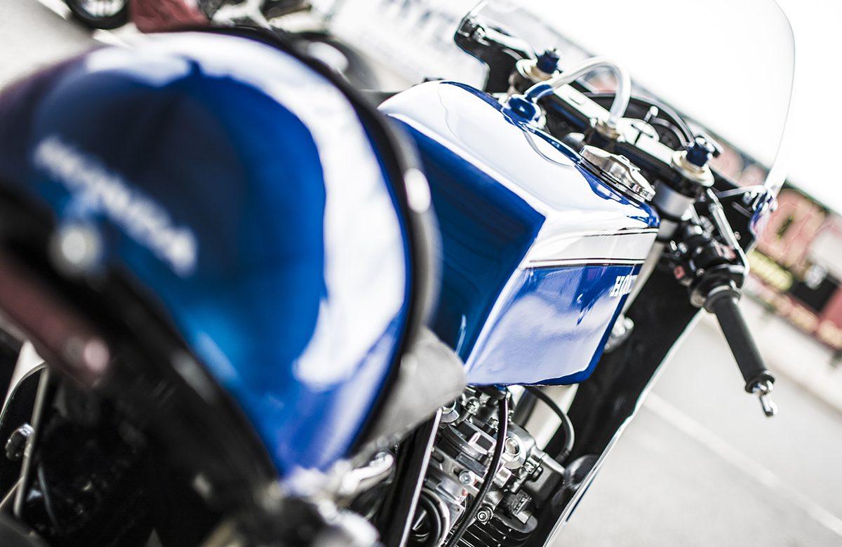 Honda CB550 CR750