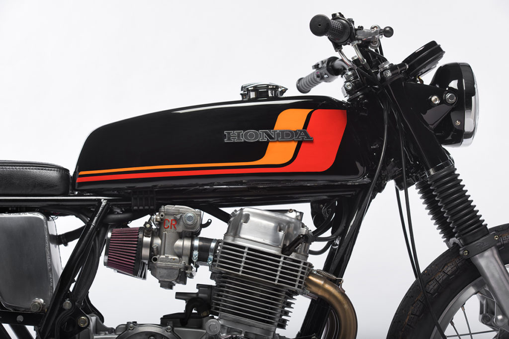 Honda CB750 cafe racer retro