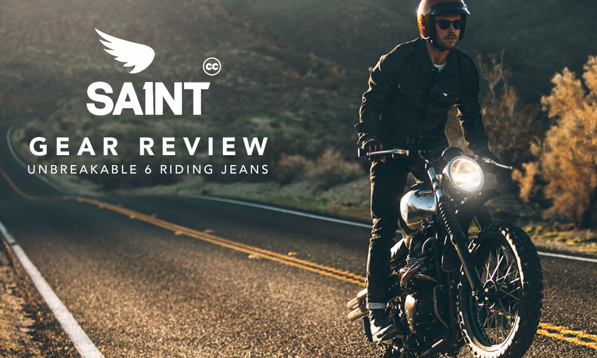 Saint unbreakable 6 motorcycle jeans