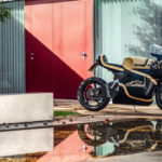 Sarolea electric motorcycle