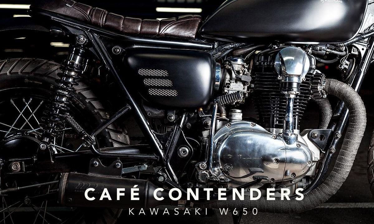 Kawasaki W650 building a cafe racer