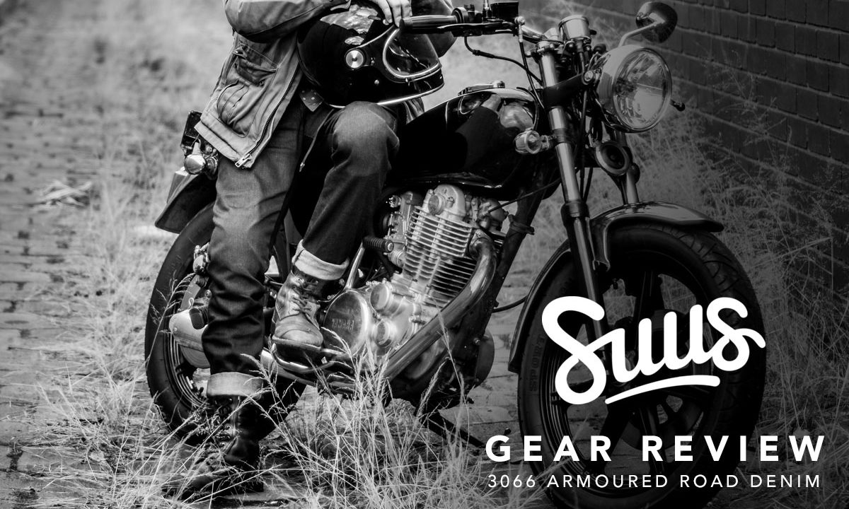 Suus Road Denim motorcycle jeans