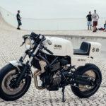 Yamaha XRS700 cafe racer yardbuilt