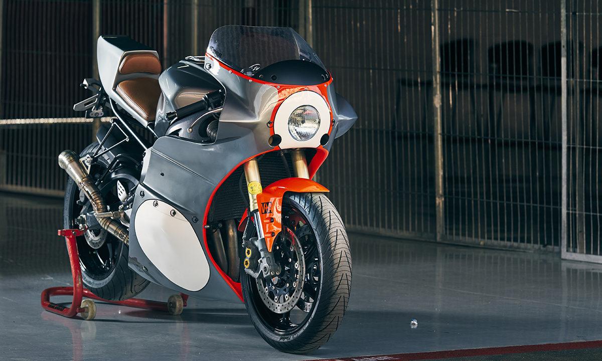 Yamaha R6 cafe racer