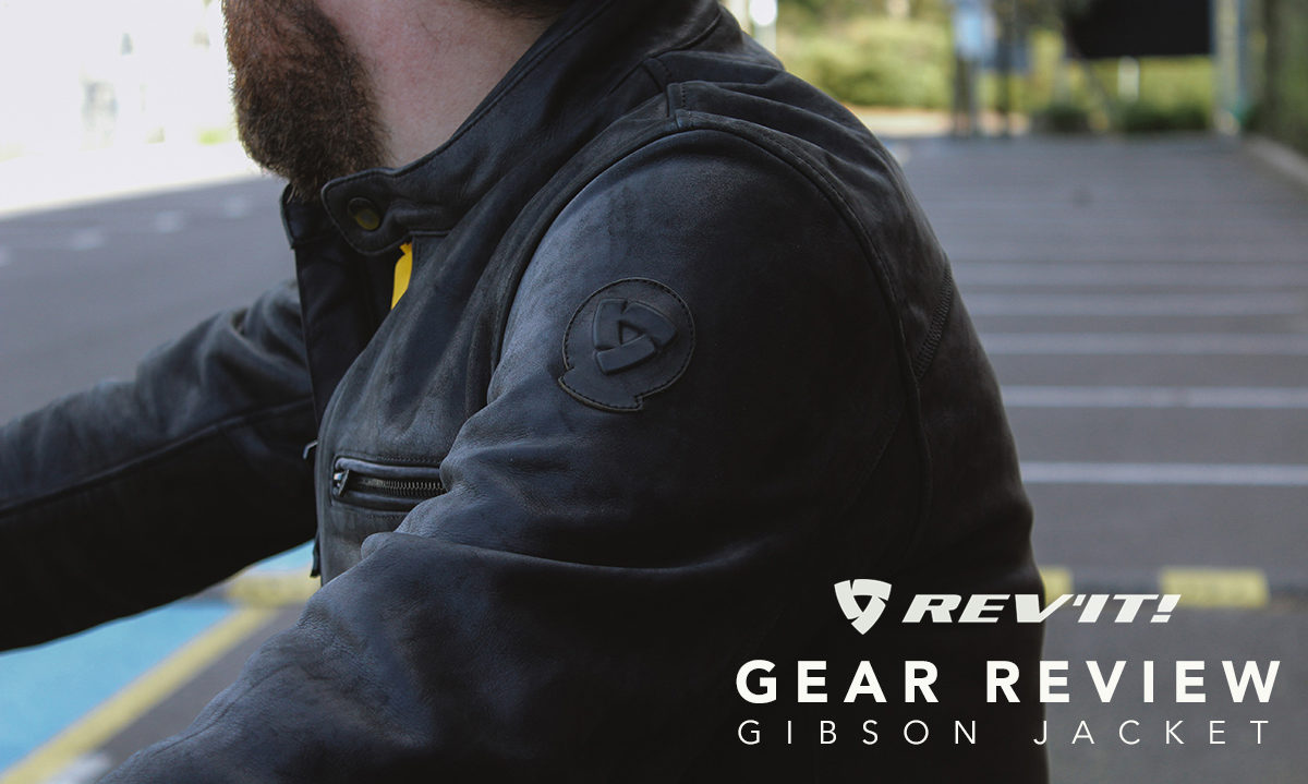 Revit Gibson motorcycle jacket