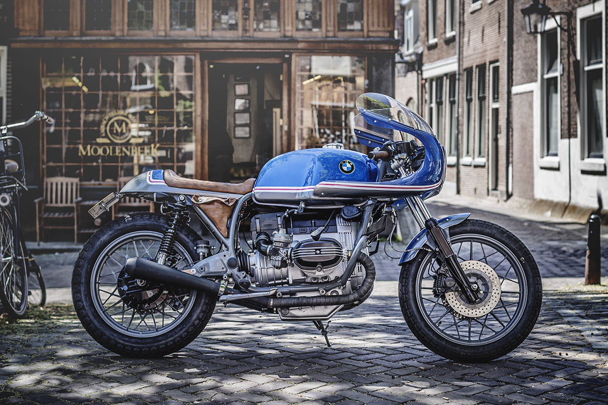 Wrench Kings BMW R100 cafe racer