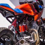 Yamaha XV1000 cafe racer