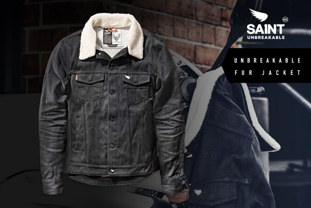 Saint motorcycle jacket giveaway