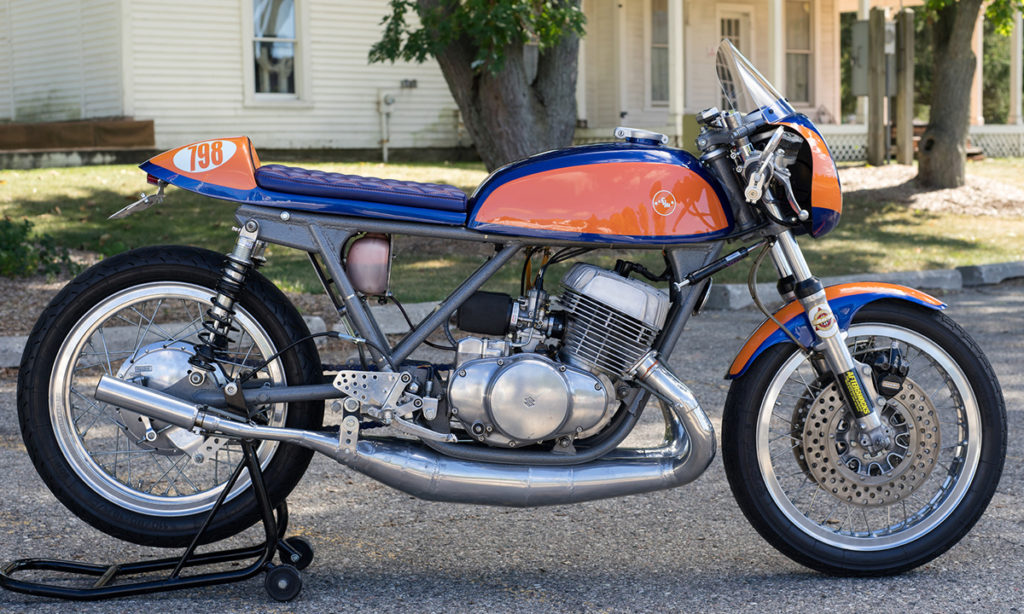Return of the Cafe Racers - Repli Racer – Spencer Motoworks Suzuki T500