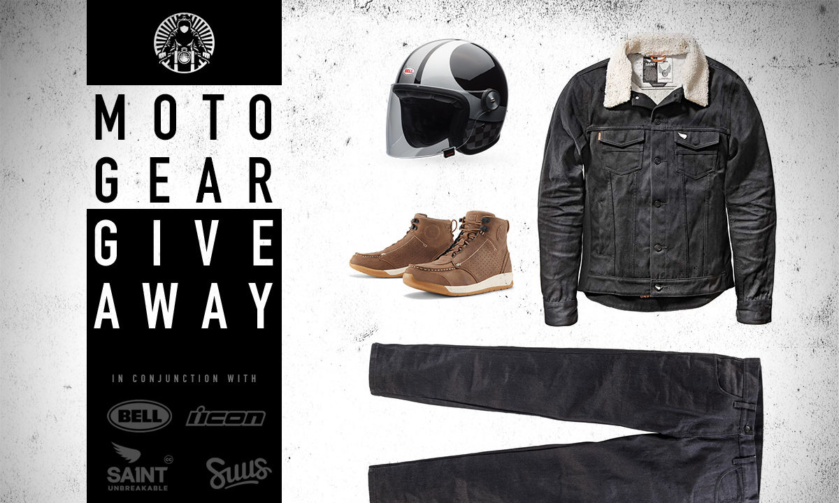 Motorcycle gear giveaway