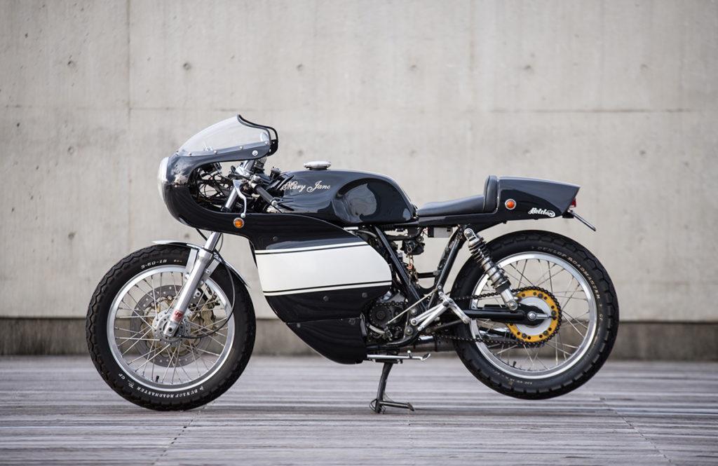 Yamaha SR400 cafe racer Mary Jane