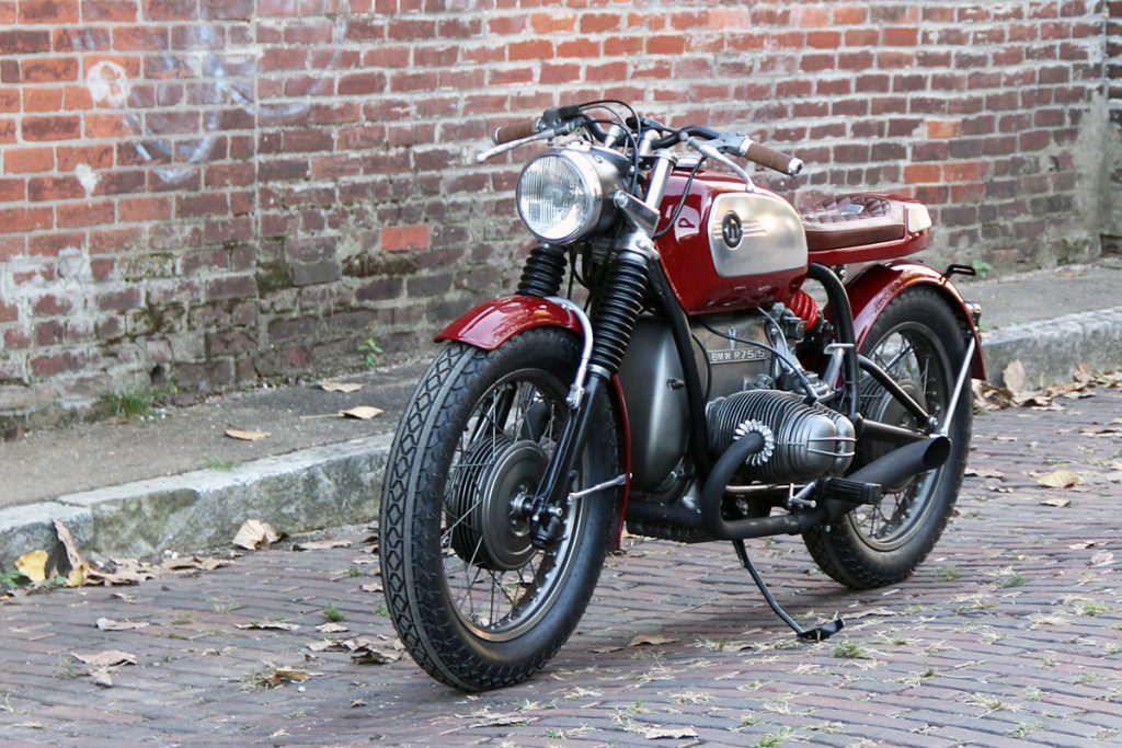 BMW motorcycle cafe racer