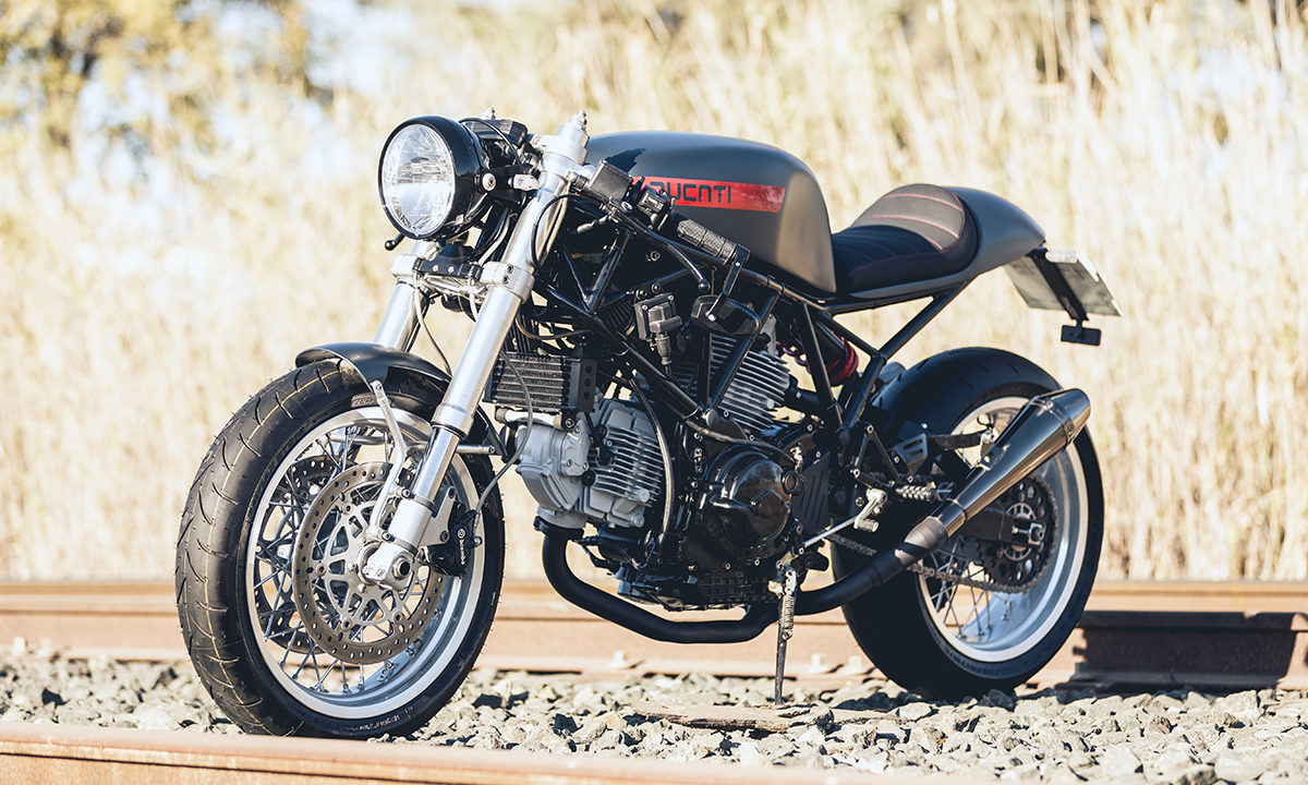 Thor Cycles Ducati 900ss cafe racer
