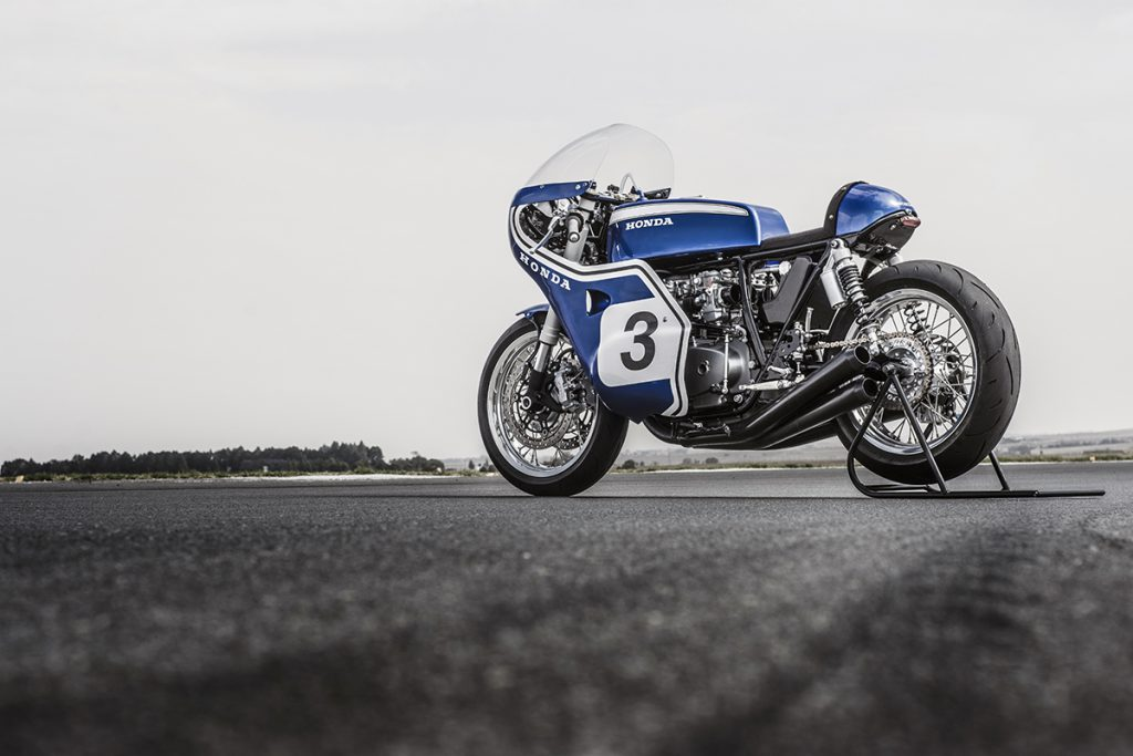 Honda motorcycle cafe racer