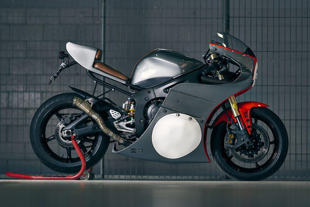 Yamaha R6 retro custom cafe racer