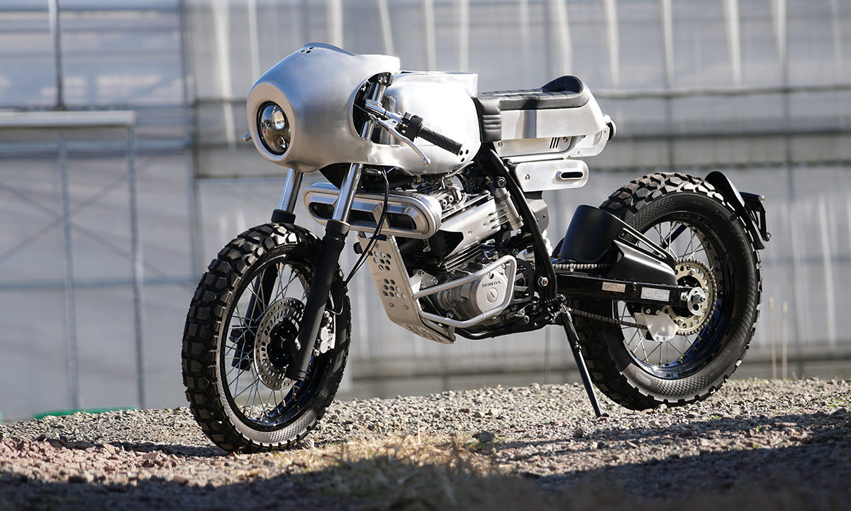 Ask Motorcycles Honda XLR custom