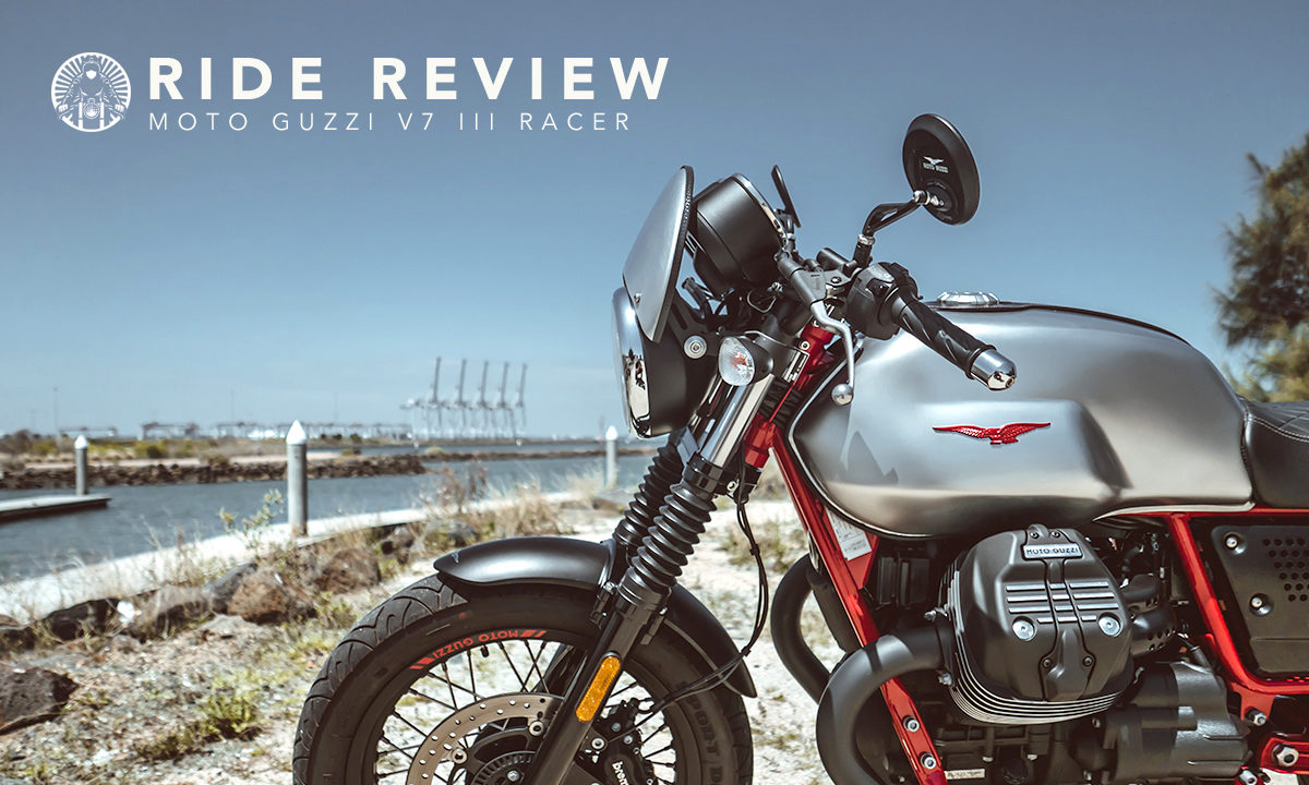 Moto Guzzi V7 III ride review