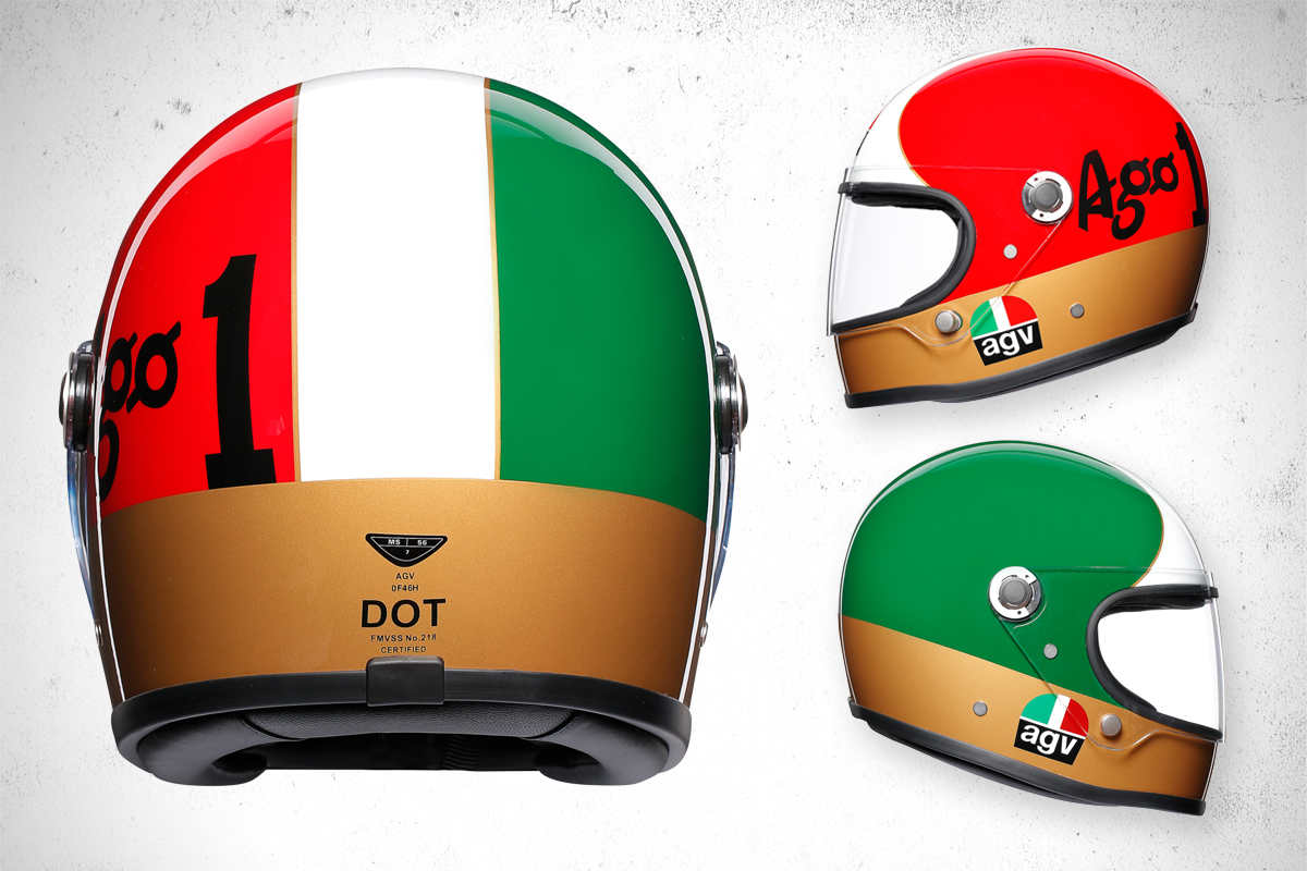 AGV X3000 retro helmet review