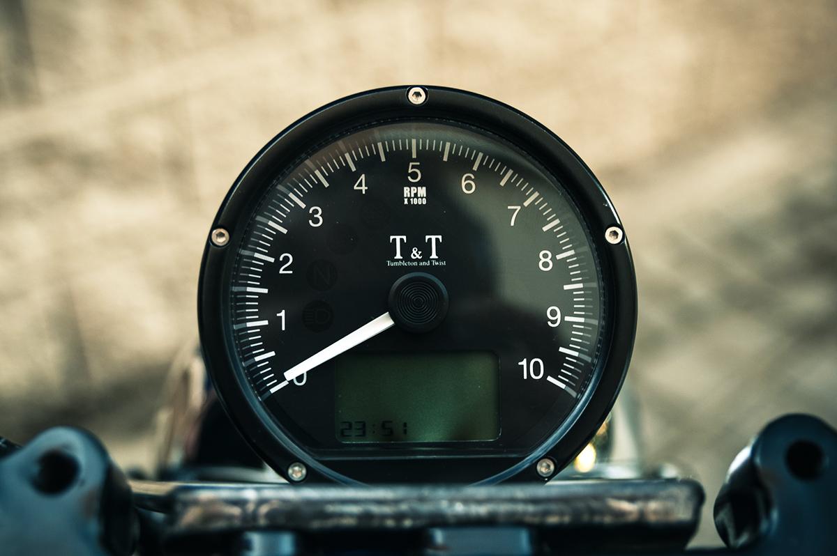 XTR Pepo Honda Hornet cafe racer