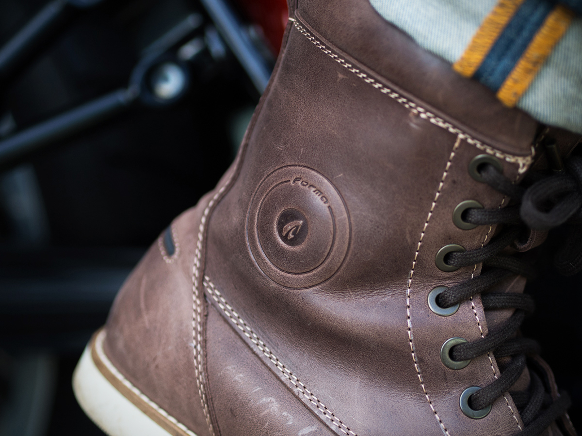 Forma Naxos motorcycle boot review