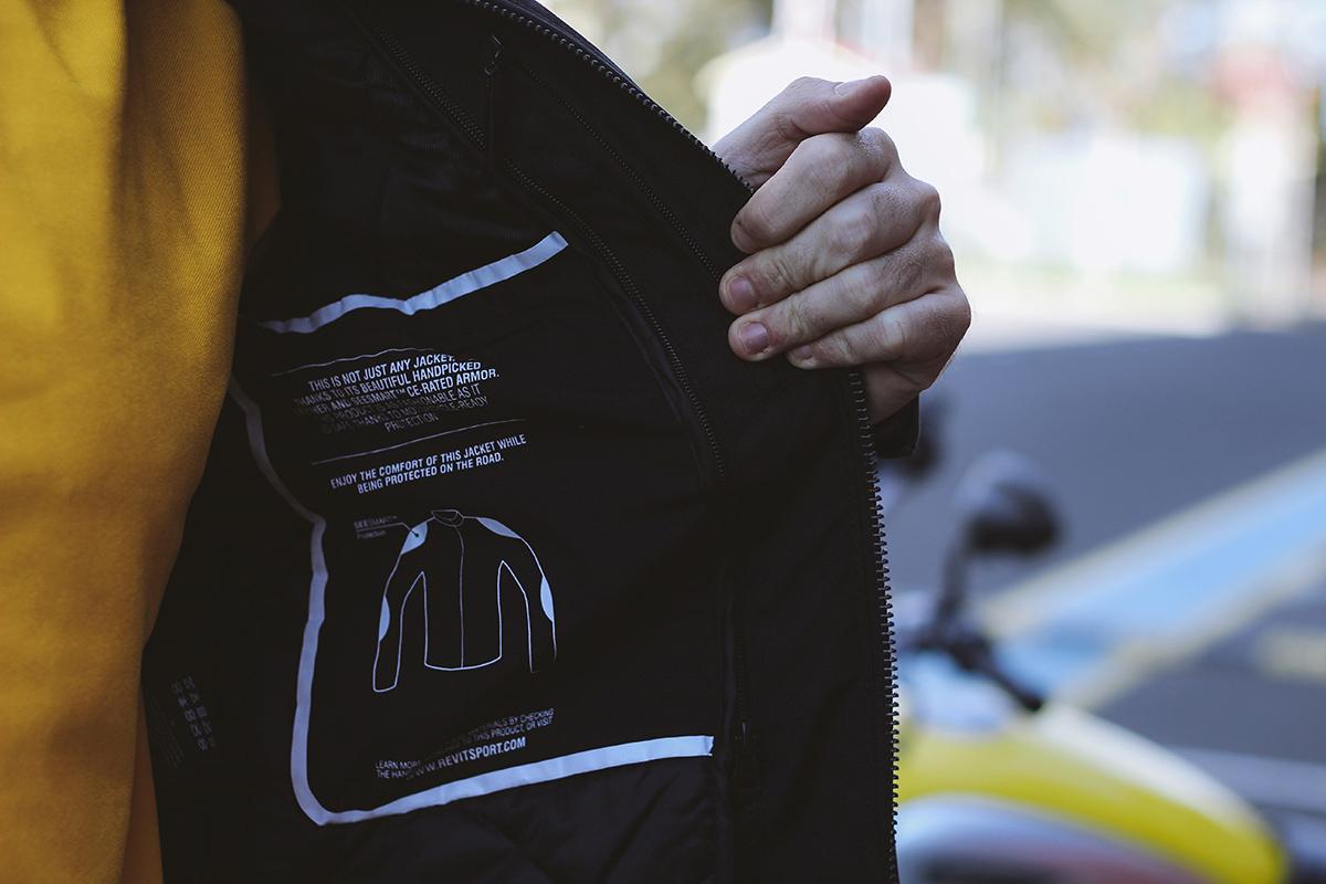 Revit Gibson motorcycle jacket