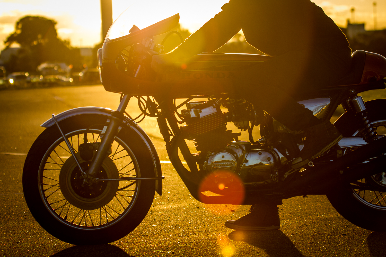 Honda CB750 Cr750 replica