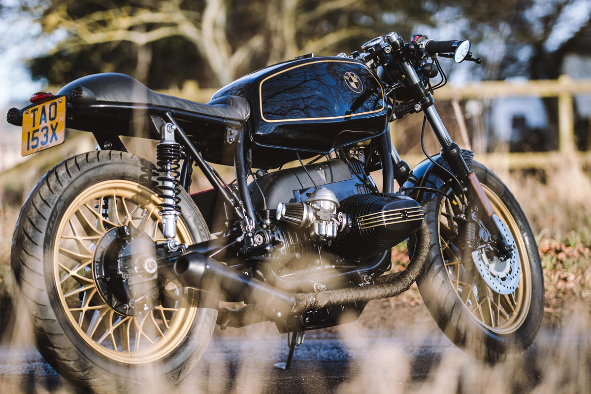 BMW R45 cafe racer JM customs