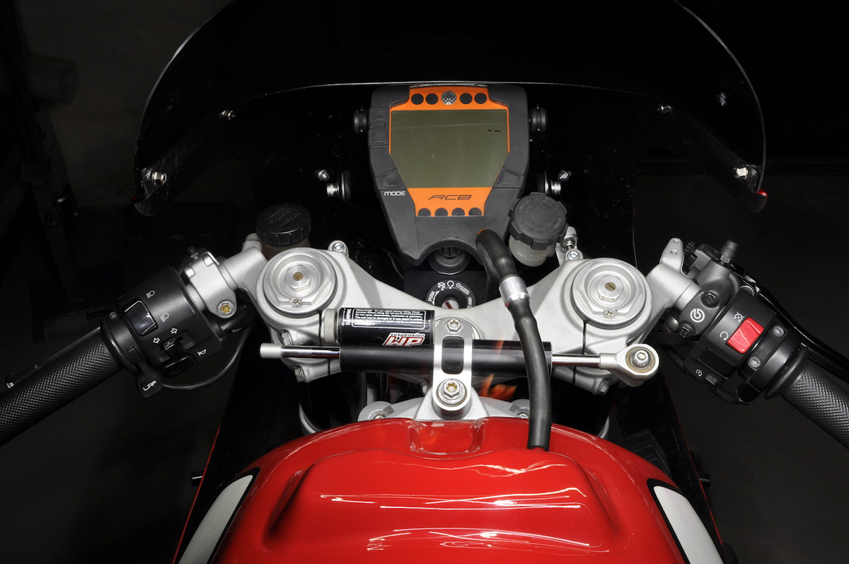 KTM RC8 custom cafe racer
