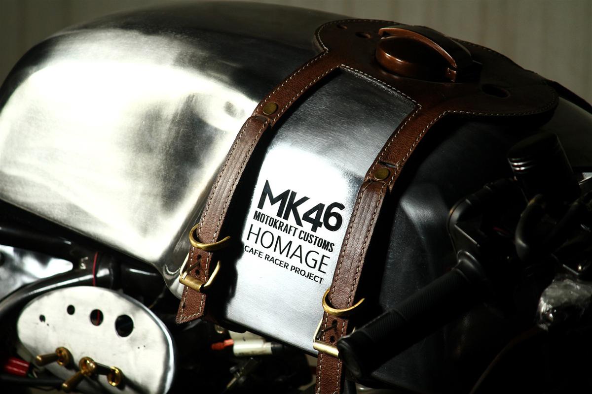 Kawasaki EL400 india cafe racer