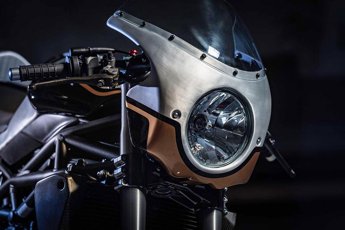 Moto Morini Corsaro cafe racer