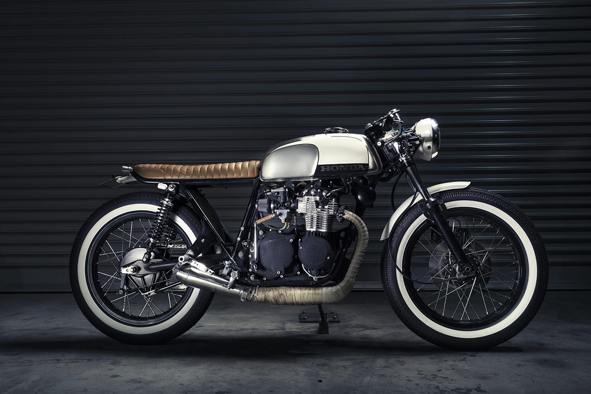 Purpose Built Motorcycles Honda CB350