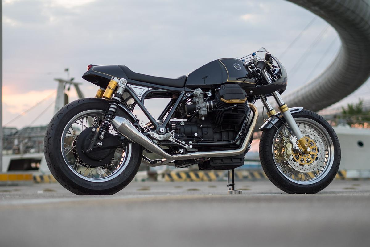Moto Guzzi Le Mans 850 Cafe Racer