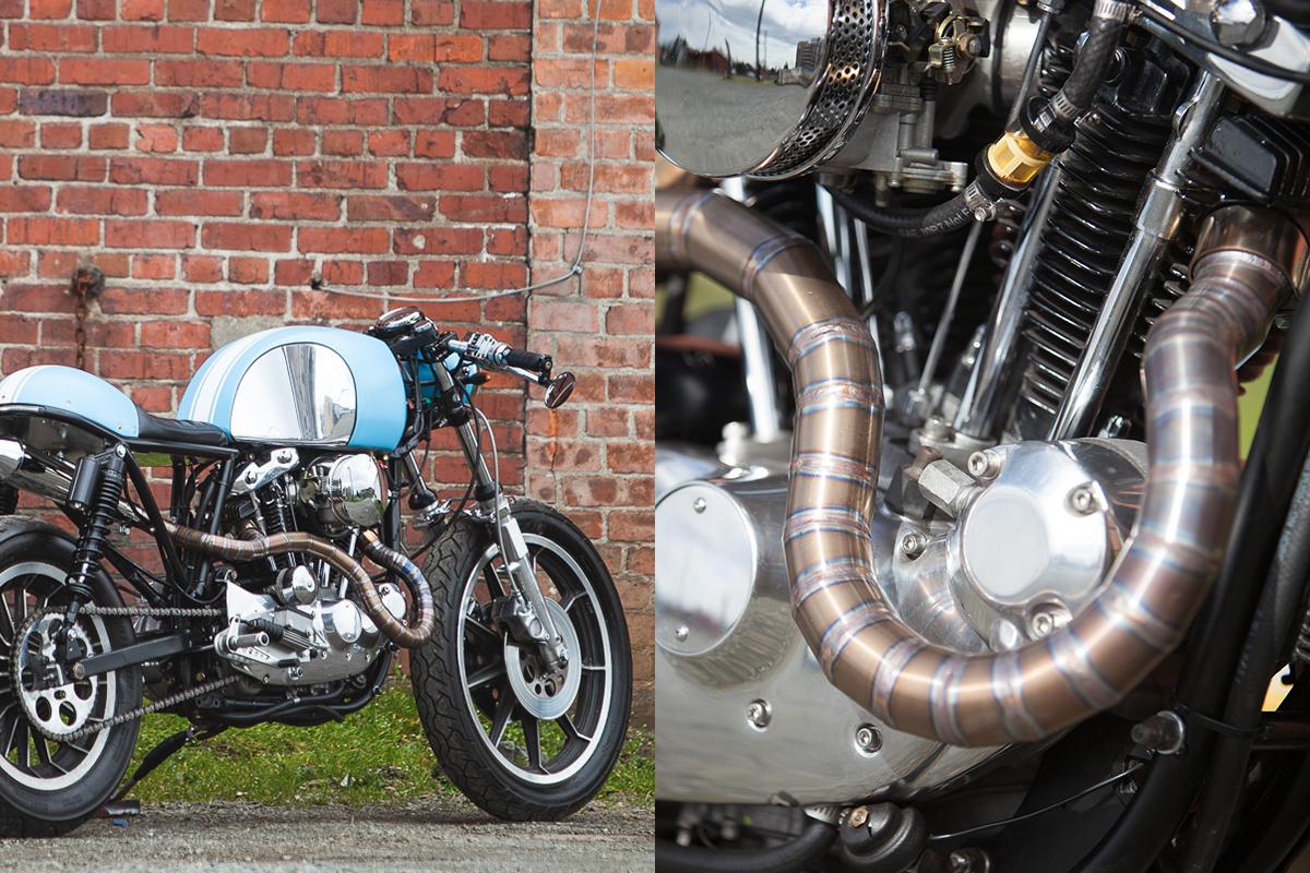 Harley Davidson Cafe Racer
