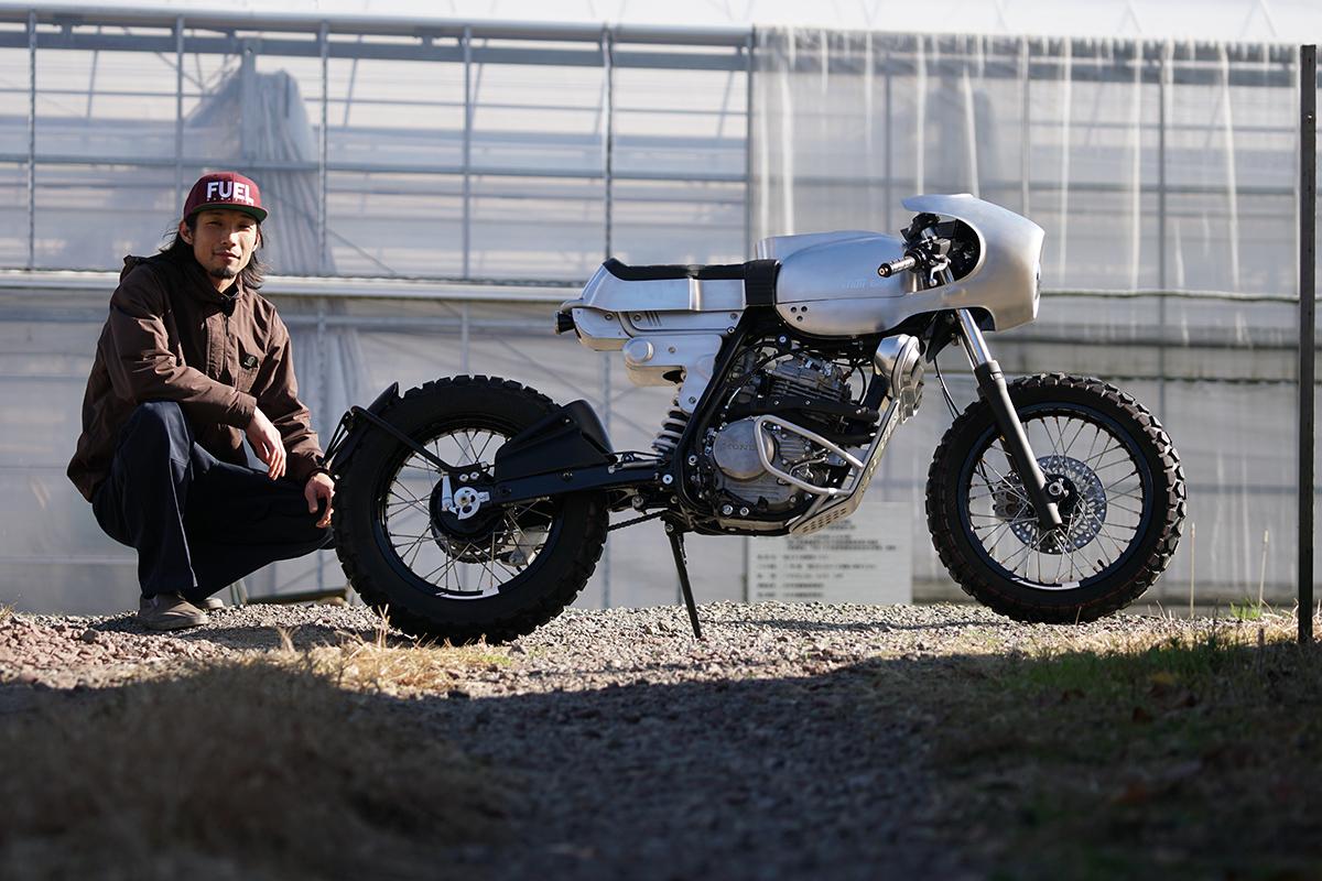 Ask Motorcycles Honda XLR250 custom