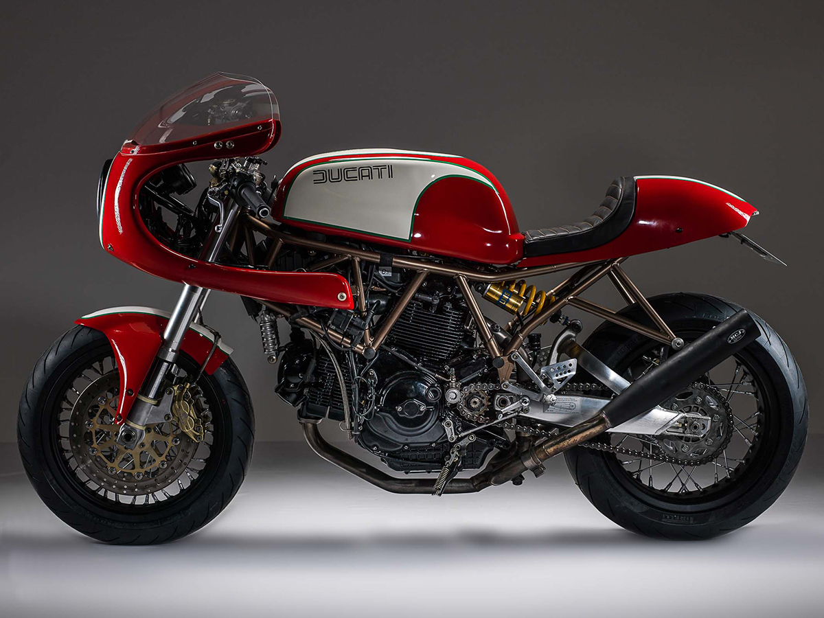 Ducati SS1000 DS cafe racer