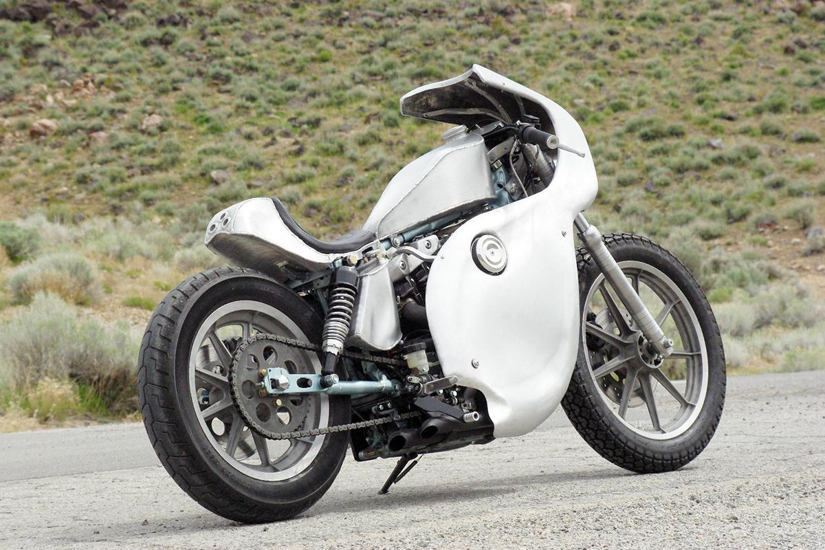 Harley davidson ironhead cafe racer