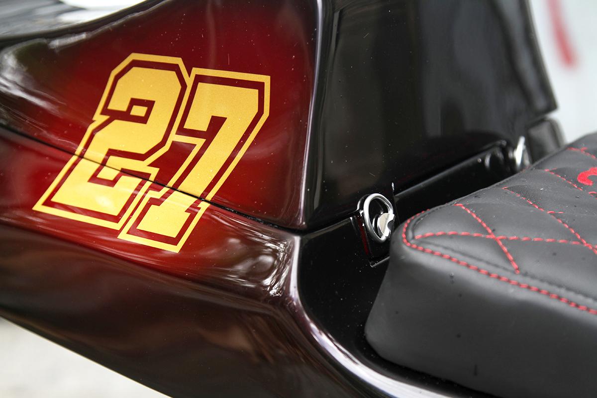 Honda CB750 F2 cafe racer