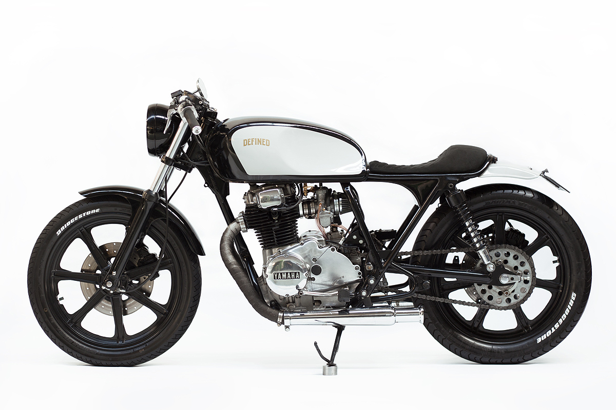 Defined Motorcycles xs250 cafe racer