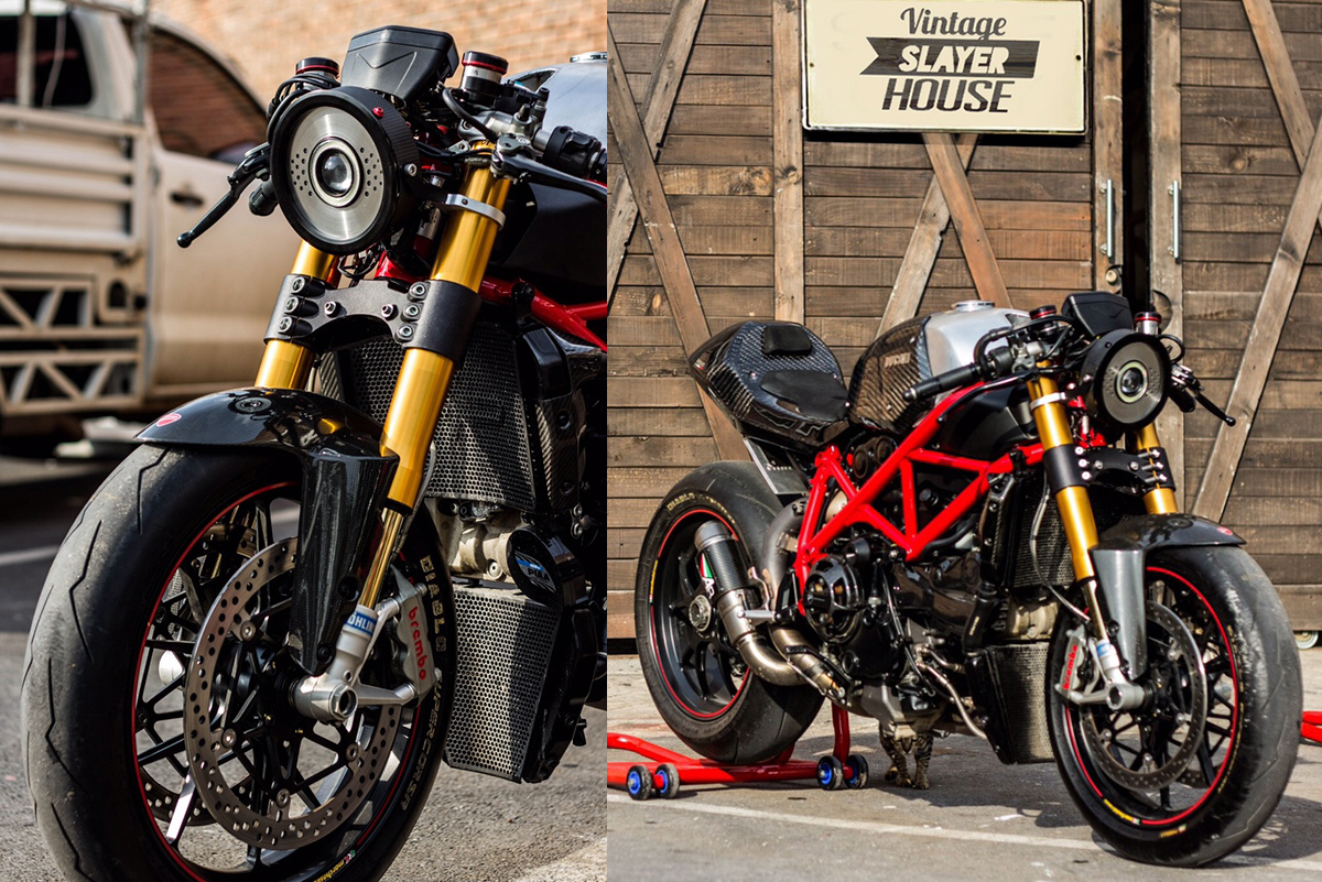 Ducati street fighter scrambler