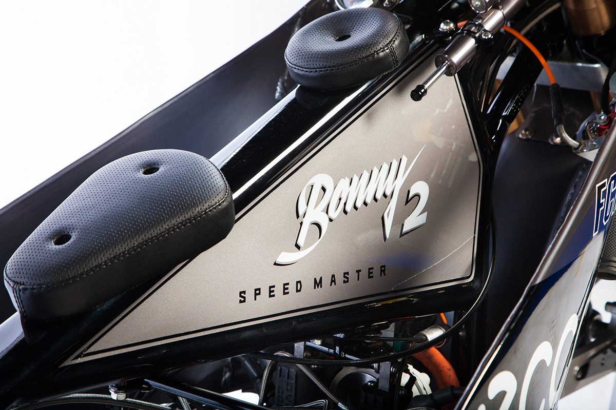 Ural Bonny landspeed motorcycle