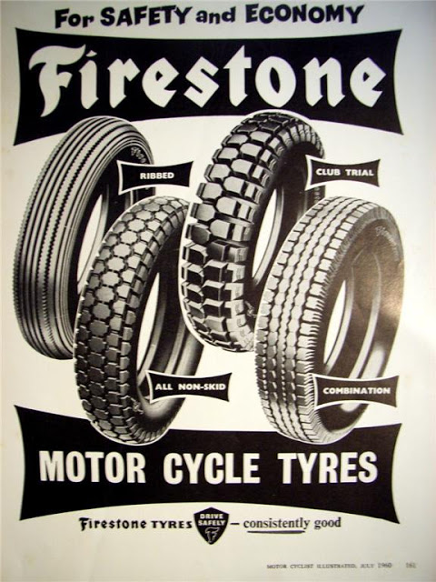 Return of the Cafe Racers - Vintage Rubber for your Cafe Racer – Firestone Tyres